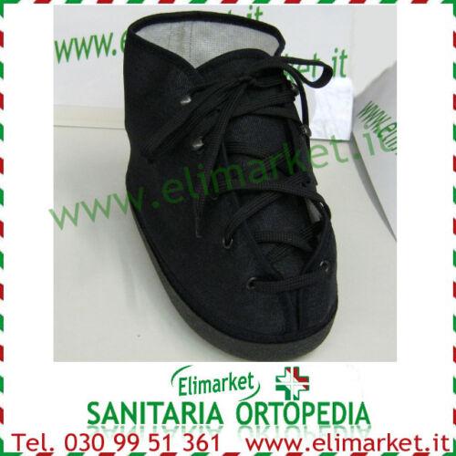 Scarpa gesso cotone jeans estiva pantofola coprigesso piede ingessato fasciato