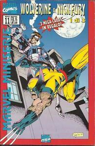 Marvel Miniserie n° 11 - WOLVERINE & NICK FURY (Marvel Italia, 1995) - Italia - Marvel Miniserie n° 11 - WOLVERINE & NICK FURY (Marvel Italia, 1995) - Italia