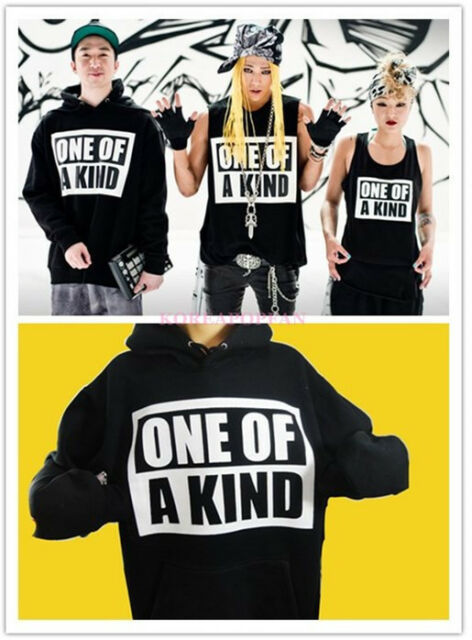 BIGBANG TAEYANG G-DRAGON GD ONE-OF-A-KIND PULLOVER HOODIE KPOP NEW