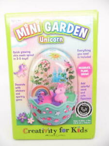Creativity for Kids Mini Magical Unicorn Garden Unicorn Gardening Crafts for Kid