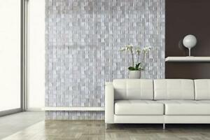 """3D BEVELED GLASS MOSAIC in 5 Colors, 3x3"""" on a 12x12 Sheet                                       tile mosaic Edmonton Area Preview"""
