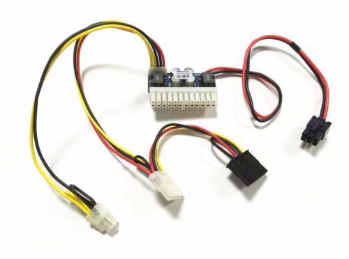 6pin input DC 12V 250W 24pin Pico ATX Switch PSU Car Auto Mini ITX power module