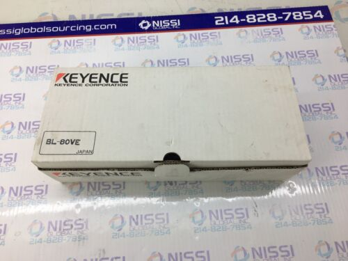 KEYENCE BL80VE Handheld Bar Code Reader BL80VE