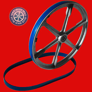 """2 BLUE MAX ULTRA DUTY BAND SAW TIRES 23 5//8/"""" X 1 1//2/""""  .125 THICK"""