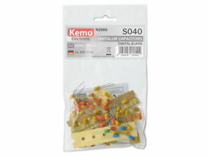 Tantalum-Capacitor-Selection-Kemo-S040-Assorted-Mixed-Values-Capacitors-100pc