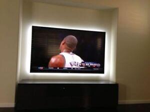 Kit led tv usb pc 2 strisce retro illuminazione da 1 metro colore