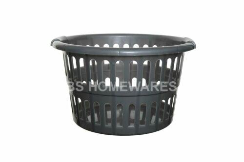 48 cm Grand Plastique Vaisselle Panier à linge Bin Vêtements Stockage Tidy panier