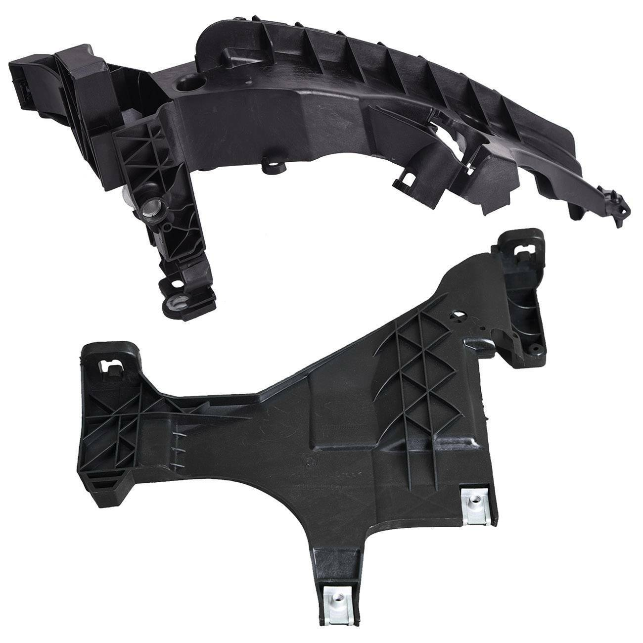 Trade Vehicle Parts AD1504 Headlight Support Mount Lower Bracket Driver Side Compatible With A4 2008-2012