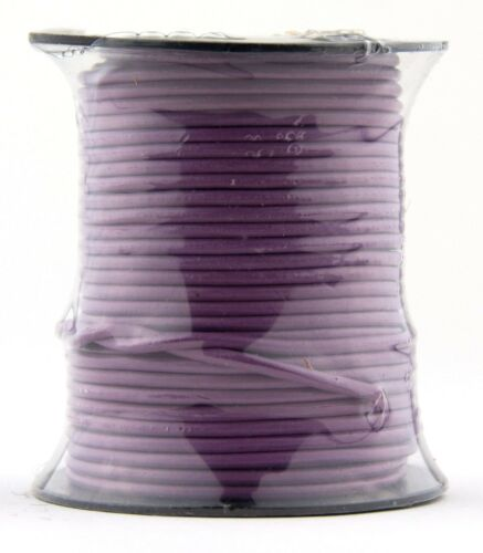 Radiant Orchid Round Leather Cord 2mm 10 meters 11 yards