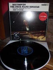 BEETHOVEN: Piano sonatas 8 14 19 20   O'Conor / Denon PCM digital LP Japan NM