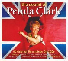 PETULA CLARK - THE SOUND OF - 50 ORIGINAL RECORDINGS (NEW SEALED 2CD)