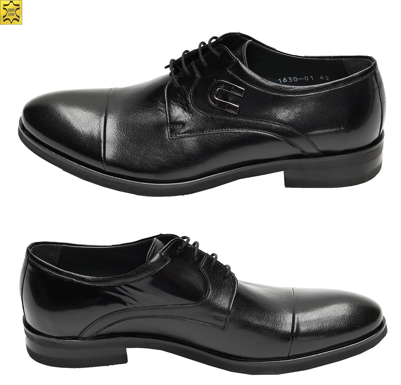 Billig gute Qualität Muga Schuhe mit Hufeisen-Applikation577Gr.43 Schwarz