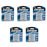 Energizer Ultimate Lithium Aa Batteries L91bp-4 5 Pack = 20 Batteries on sale
