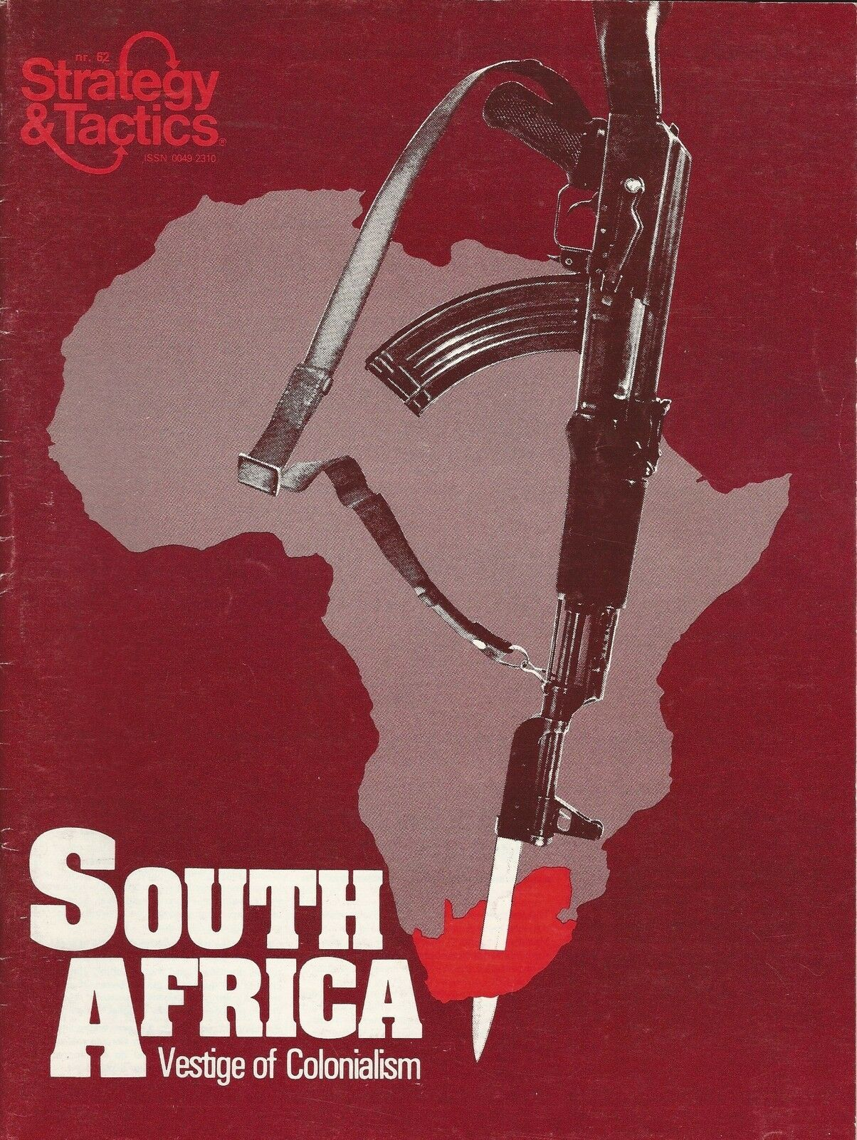 Strategy & Tactics S&T South Africa - Vestige of Colonialism Unpunched  FS