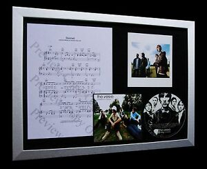 THE-VERVE-Sonnet-LTD-Nod-CD-MUSIC-FRAMED-DISPLAY