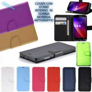 PER APPLE IPHONE 8 cover a libro portafoglio CARD in eco PELLE ...