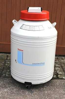 Thermo Locator 6 Plus Cryogenic Storage Dewar