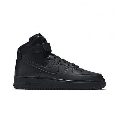 Nike Air Force 1 '07 Low Mid High White/White & Black/Black Shoes Men's GS Kids