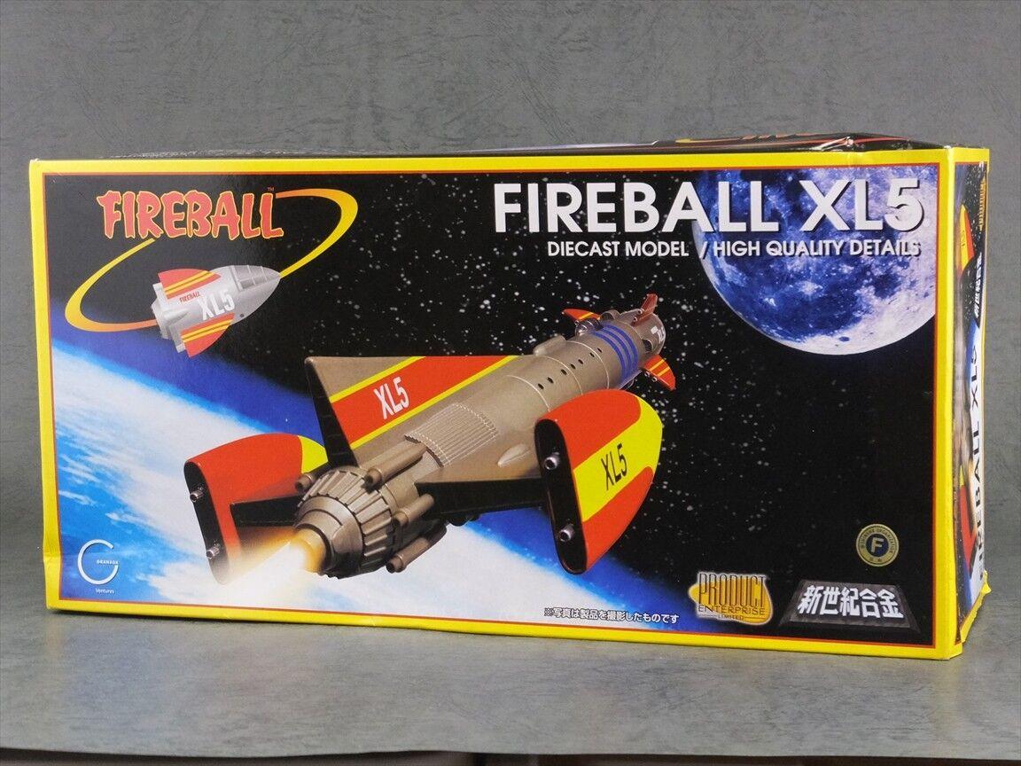 Aoshima XL5 Modelo Diecast bola de fuego
