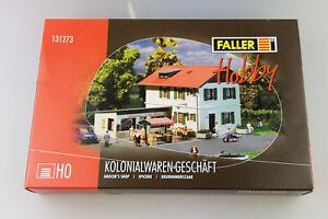 H0-Eisenbahn-Faller-Kolonialwaren-Geschaeft-Shop-131273