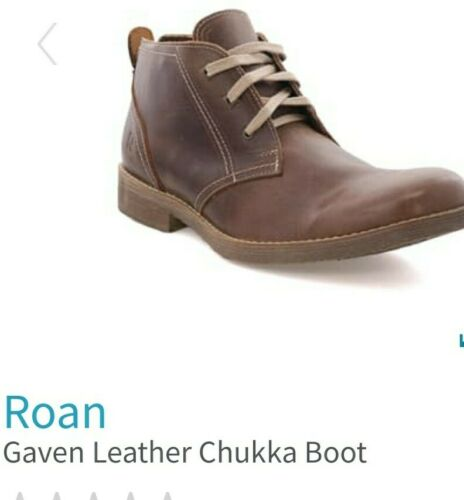 Roan Gaven Leather Chukka Boots size 12
