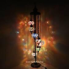 Handmade Turkish Moroccan Mosaic Floor Lamp Light 7 Globe | eBay