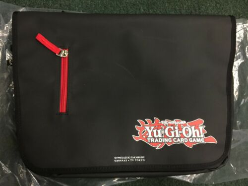 Yugioh Limiited Edition Gamer/'s Carrying Bag Black Near Mint Fast Shipping!