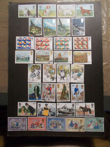 GB-1979-Commemorative-Stamps-Year-Set-Very-Fine-Used-ex-fdc-UK-Seller