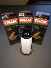 THREE(3) Fram Ultra XG11665 Synthetic Oil Filter fits 68191349AA MO349 CH11665