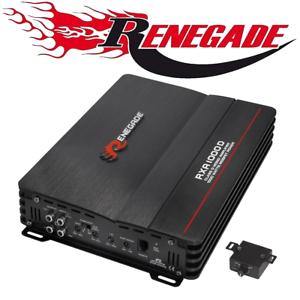 Renegade monoblock Bass amplificadores para vehículos etapa final mono rxa1000d