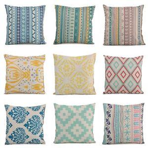 Vintage-Square-Flower-Cotton-Linen-Throw-Pillow-Case-Cushion-Cover-Home-Decor
