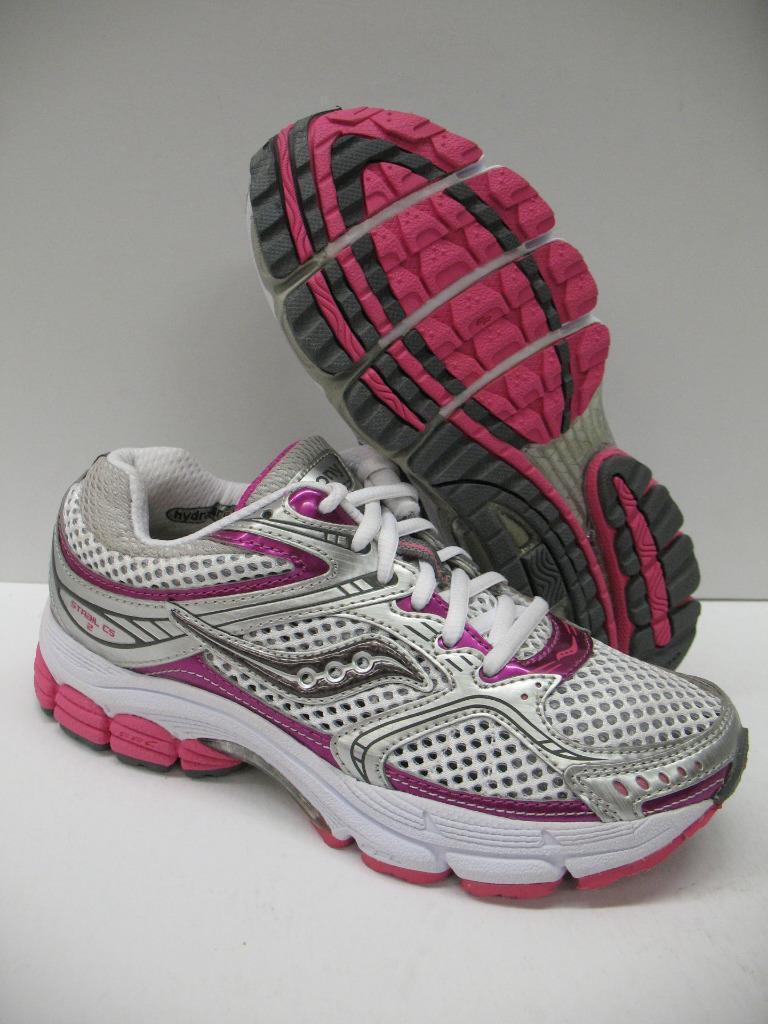 Saucony ProGrid Stabil CS2 Stability Running Training Schuhes WEISS Damenschuhe 5.5