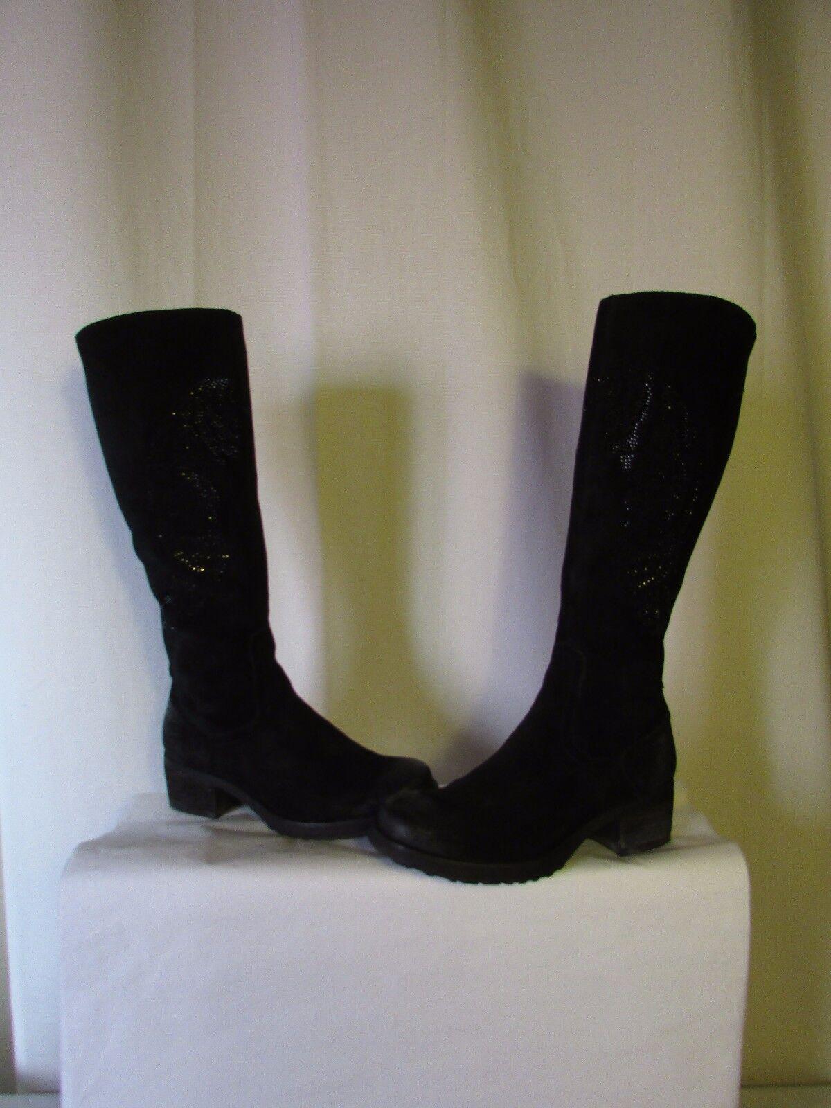 Zapatos especiales con descuento Bottes MAM'ZELLE daim et strass noir 37
