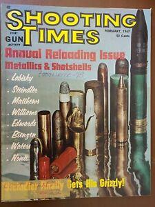 VINTAGE-SHOOTING-TIMES-MAGAZINE-February-1967-GERMAN-GUNS-of-WWII
