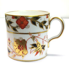 ROYAL CROWN DERBY Demitasse cup and saucer Imari Asian Rose pattern
