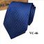 Classic-Red-Black-Blue-Mens-Tie-Paisley-Stripe-Silk-Necktie-Set-Wedding-Jacquard thumbnail 56