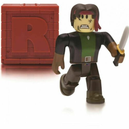 Online Codes NEUF ROBLOX Mystery Figures Series 4 Red Brick Box Figurine Jouets