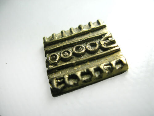 bronze cire perdue petit poids Baoulé
