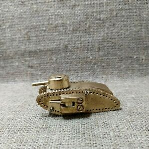 Vintage Petrol Lighter MK1 Male British Tank