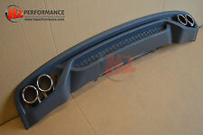AUDI A4 4DR B9 SALOON 2012-2015 A TYPE REAR BUMPER DIFFUSER | TAILPIPES | PP