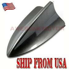 US Dark Gray Shark Fin Style Roof Top Mount Dummy Antenna Tape For Nissan