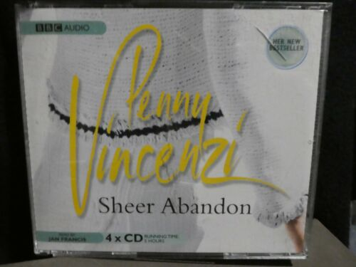 1 of 1 - Sheer Abandon by Penny Vincenzi (CD Audio Book, 2005) g16