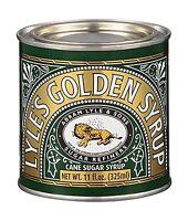 Lyle's Golden Syrup - Cane Sugar Syrup - 1 Tin 11 Fl Oz (325 Ml) Free Shipping