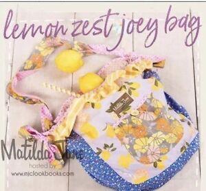 Matilda Jane- Lemon Zest Joey Bag-NWT The Adventure Begins