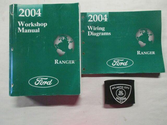 2004 Ford Ranger Service Shop Repair Manual  U0026 Wiring
