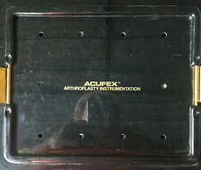 Acufex Surgical Orthopedic Arthroscopic Arthroplasty Instruments With Case