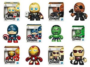Marvel-Avengers-Movie-Assemble-Mini-Mighty-Muggs-Action-Figures-Toy-UK-Seller