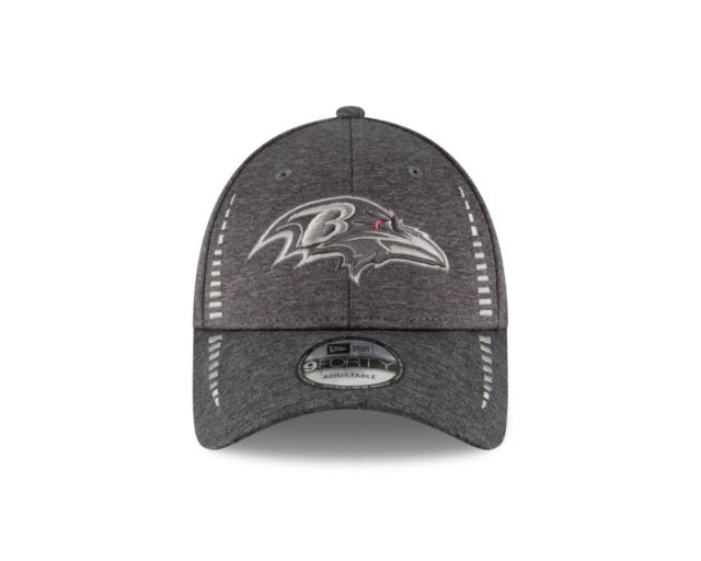 first rate cf857 a49a7 Baltimore Ravens New Era Speed Tech 9FORTY NFL Adjustable Cap- Graphite