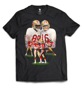 Joe-Montana-And-Jerry-Rice-Throw-Back-Shirt-Size-Large-San-Francisco-49ers