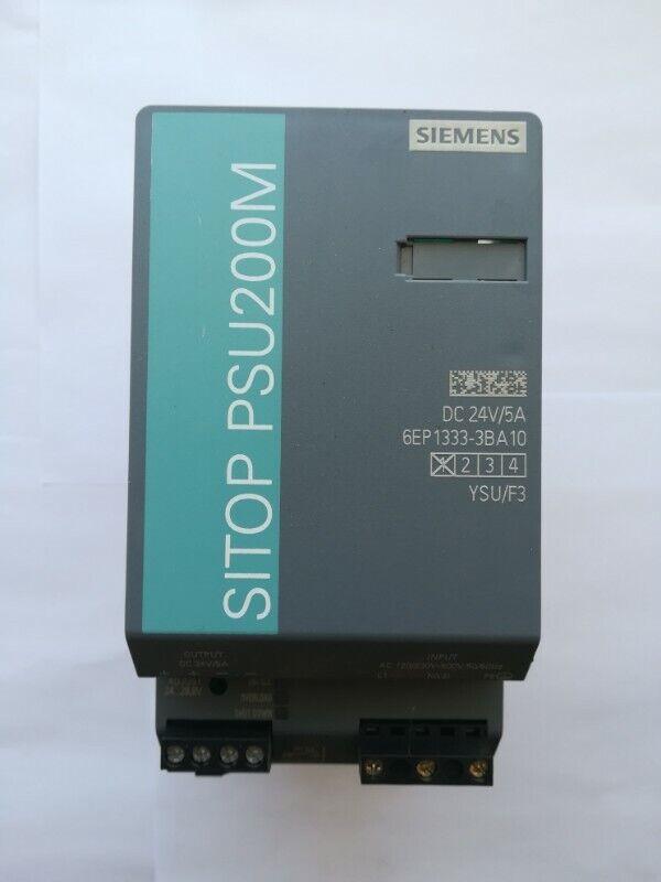 Siemens SITOP PSU200M 5 A Stabilized power supply 6EP1333-3BA10